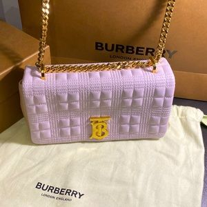 Burberry Quilted Lambskin Lola Bag